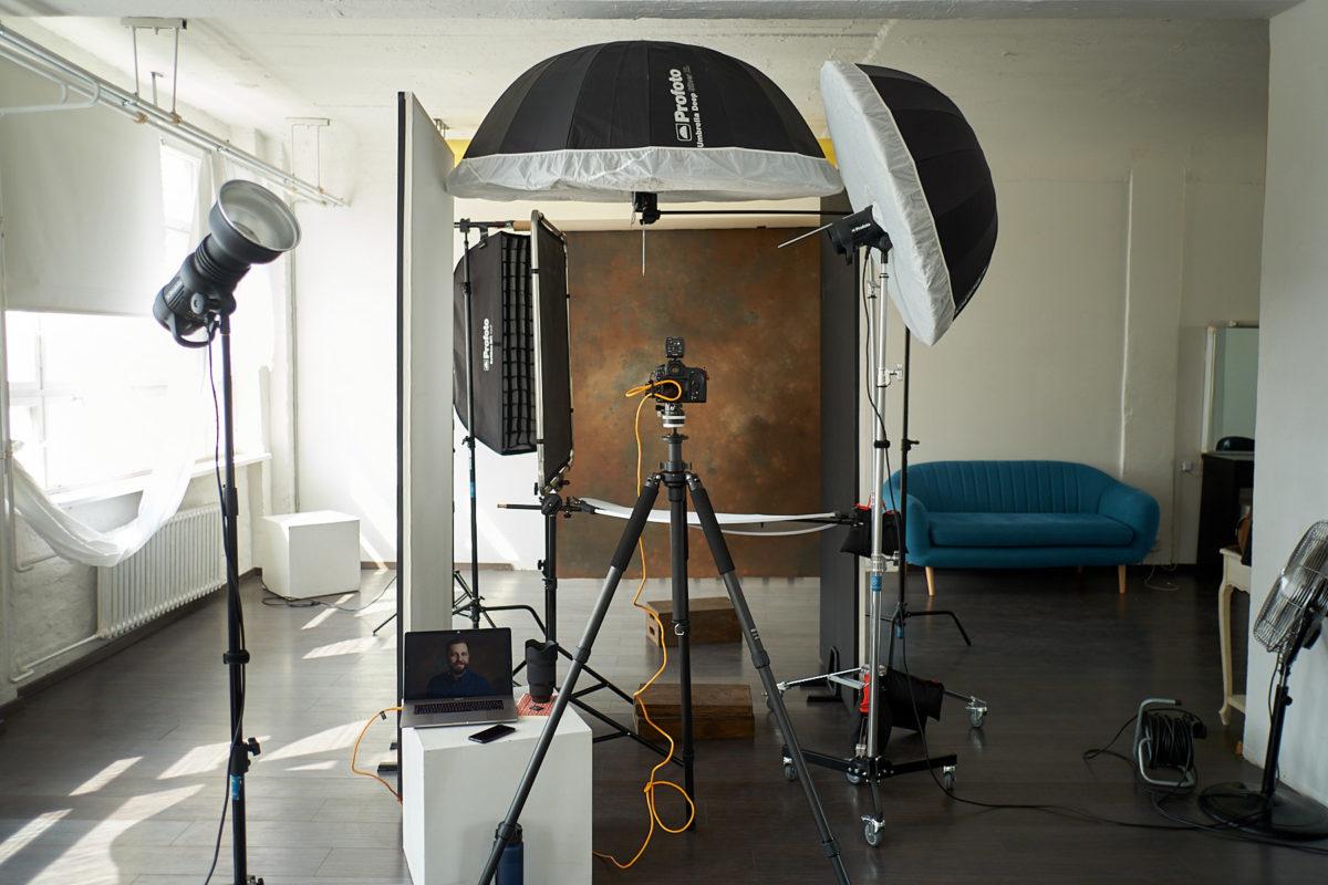 Hintergrundverleih Backdrops für Porträts